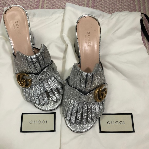 be9223ce831 Gucci bloom mules in 2018 My Posh Closet t Gucci shoes